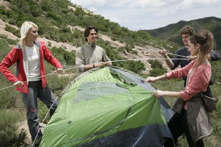 广州拓展项目之搭帐篷